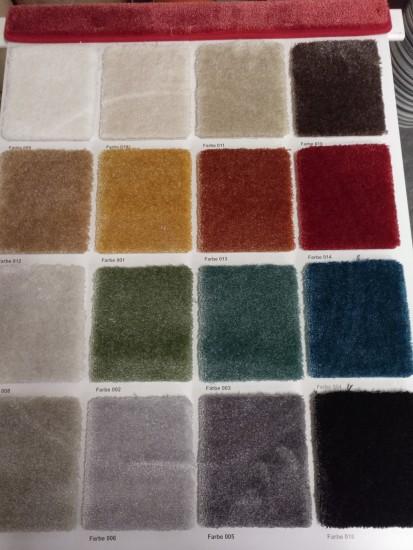 Hochwertige Teppichböden/ Veloure mit Cfl-s1 / B1 Brandverhalten