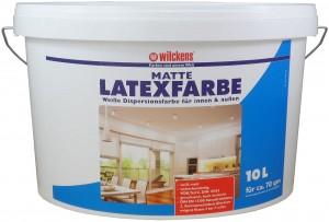 Wilckens Latexfarbe Weiß matt, weiss 10 L
