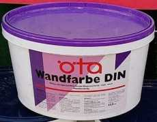 Oeta Profi DIN Wandfarbe 2,5 L Gebinde- Deckkraftklasse 1
