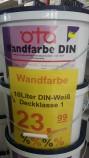 Oeta Profi DIN Wandfarbe 10 L Gebinde- Deckkraftklasse 1