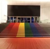 Regenbogen , bedruckter Teppichboden mit B1 C-fls1