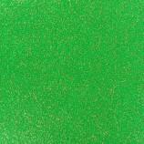 ExpoGlitzer Expoglitter-0961 -Apfel Grün Glitzereffektteppich mit B1
