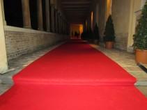 Messeteppich rot 100 cm x ca. 9,70 m