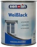 Renolin Weißlack hochglänzend Weiß 0,75